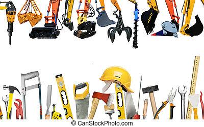 costruzione, attrezzi