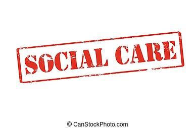 social, cuidado,