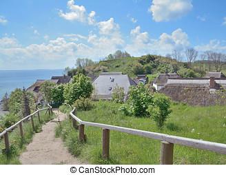 Vitt,Kap Arkona,Ruegen Island - Village of Vitt at Kap...