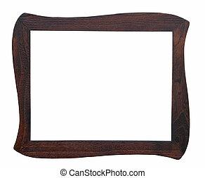 Wooden photo frame handmade