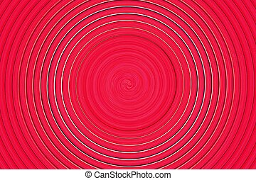 abstract spiral bright red - abstract of bright red spiral...