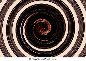 abstract spiral orange in middle - abstract of spiral orange...