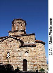 Church of St Naum on Ohrid Lake, Macedonia