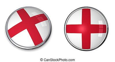 Banner Button England
