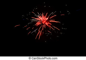 Fireworks display - July 4th fireworks display