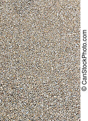 Background pea gravel brown - Texture of pea gravel of...