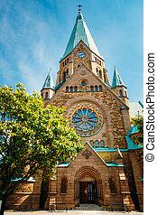 Building Of Sofia Kyrka - Sofia Church In Stockholm, Sweden....