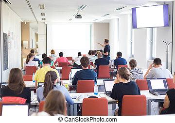 Informatics workshop at university. - Workshop at...