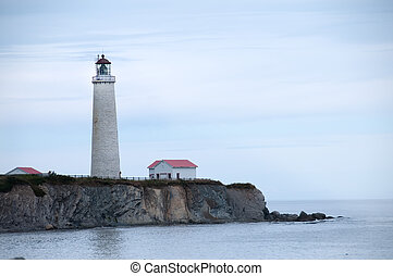 old lighthouse - oldest lighthouse in Gaspe Peninsula, Cap...