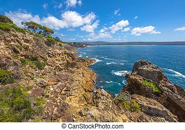 Eden Cliffs Australia - Cliffs of Eden in the sapphire...