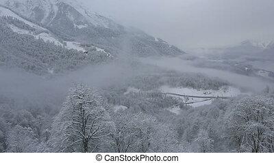 Panorama of Rosa Khutor Alpine Resort - Panorama of the Rosa...
