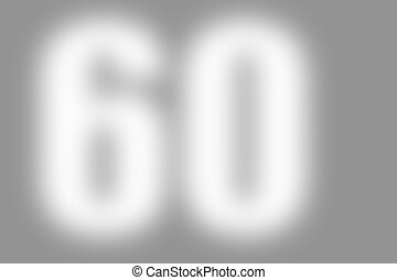 gray abstract background with number 60 - gray abstract...