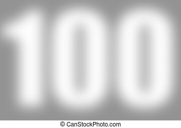 gray abstract background with number 100 - gray abstract...