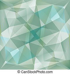 blue gray background - Polygonal abstract monochrome...
