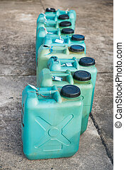 green plastic fuel tanks, industry
