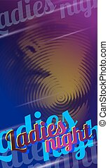 Flyer design ladies night