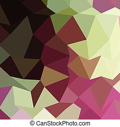 Claret Red Abstract Low Polygon Background - Low polygon...