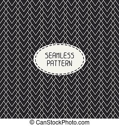 Geometric abstract striped seamless pattern with chevron...