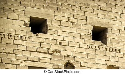 Sphinxes avenue at Karnak Temple (Luxor, Egypt) - Sphinxes...