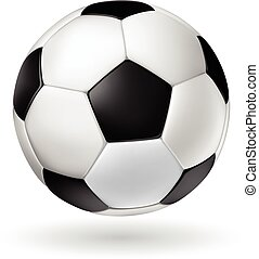 Vector Soccer Ball - High Detail vector soccer ball