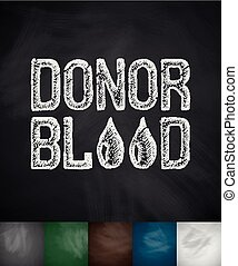 DONOR BLOOD icon