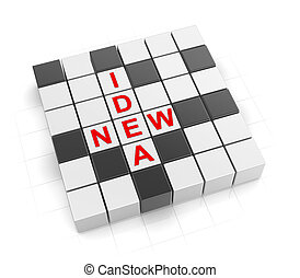3d Crossword Series