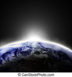 Earth view - Earth as seen from space