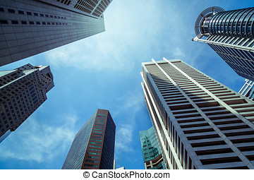 Sunny Day - Hot Sunny Day With Buildings And Sky