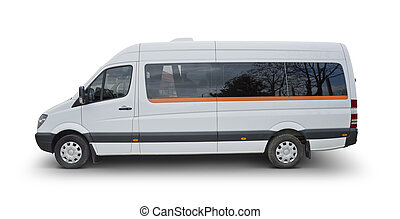 Minibus - Clipping Path Included