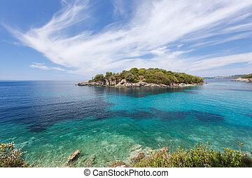 Syvota, Agia Paraskevi island - Beautiful Landscapes of Agia...