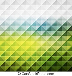Abstract geometric background Mosaic Vector illustration -...