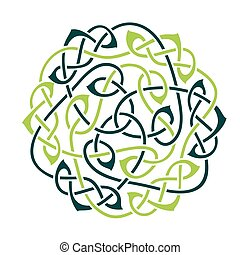 Celtic Knot - Big celtic knot, celtic ornament, vector...