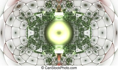 Inside the collider With alpha ch - HD abstract fractal art...