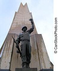 Algerian revolution monument - Algiers, Algeria - A 90 meter...
