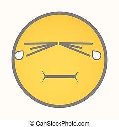 Weeping - Cartoon Smiley Vector - Weeping - Cartoon Smiley...