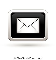 Mail icon. Vector illustration