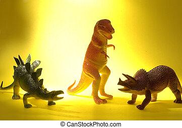 恐龍, 差异