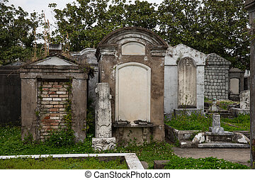 New Orleans - Above Ground Cemetery - Historic Saint Louis...