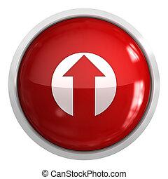Push button - upload concept