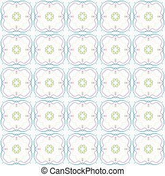 Abstract color repeating pattern Vector illustration