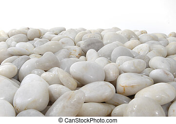 White tones Background Horizontal - White stones background...