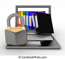 Security protection of files