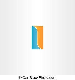 double letter l logo design