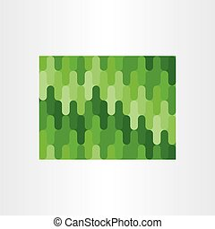 green abstract seamless pattern background
