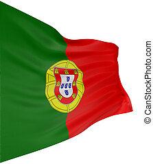 ポルトガル語, 旗, 3D