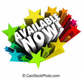 Available Now 3d Words Stars New Listing Product Release Buy...