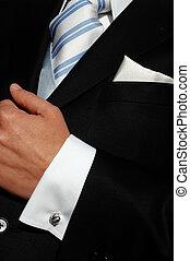 man,s suit - man\'s suit with handkerchief ,tie and cufflink