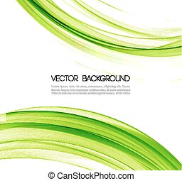 Vector Abstract lines background. Template design