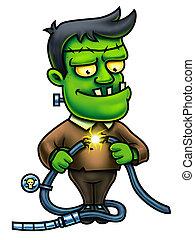 Frankenstein, carácter, caricatura