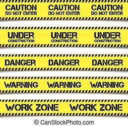 Construction Caution Tapes